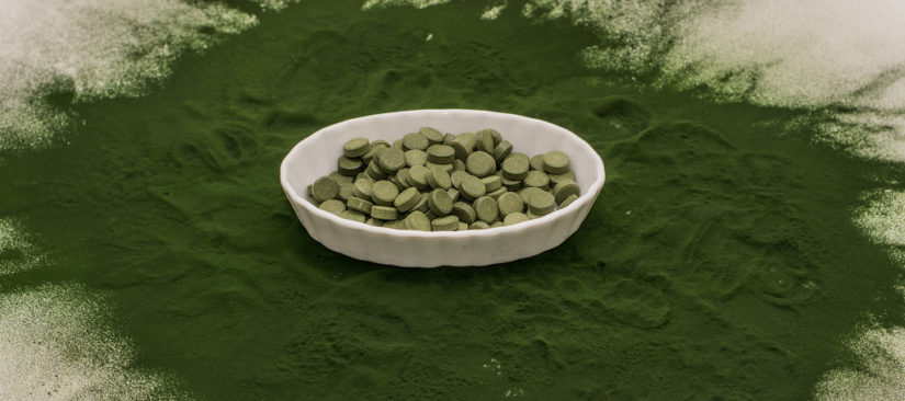 Spirulina and Chlorella Tablets